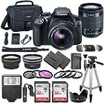 Canon EOS Rebel T6 DSLR Camera Bundle...