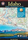 Idaho Road and Recreation Atlas, Benchmark Maps, 0929591062