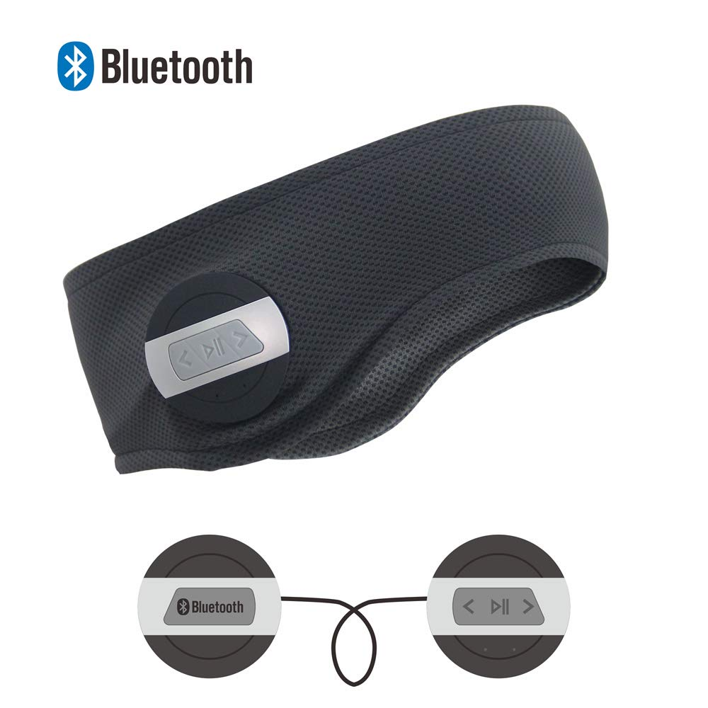 OUTDOORSKY Wireless Bluetooth Headband Sports Running Music Headphone Hands Free Headphone Headset for Gym Fitness Exercise Outdoor Sports Outdoor/'s Sky