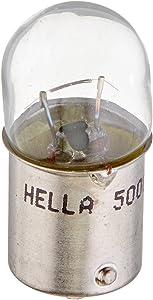 HELLA 5008TB Standard-10W Standard Miniature 5008 Bulbs, 12V, 10W, 2 Pack