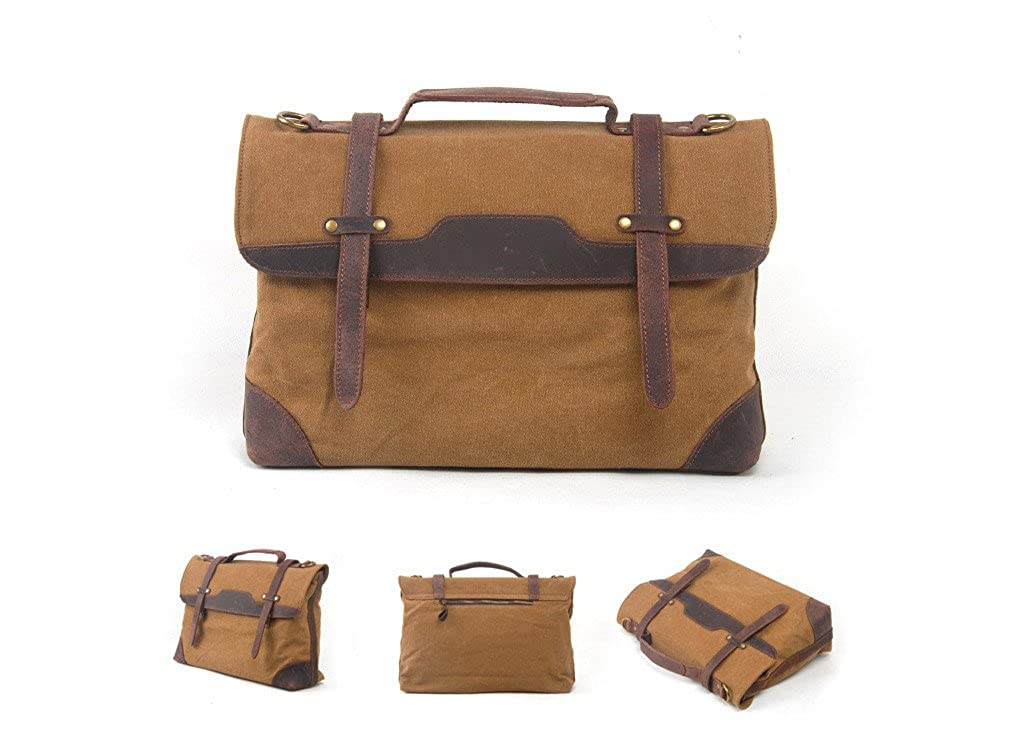 Multifunction men canvas messenger bag,brifecase bag,shopping,work,student bag1935
