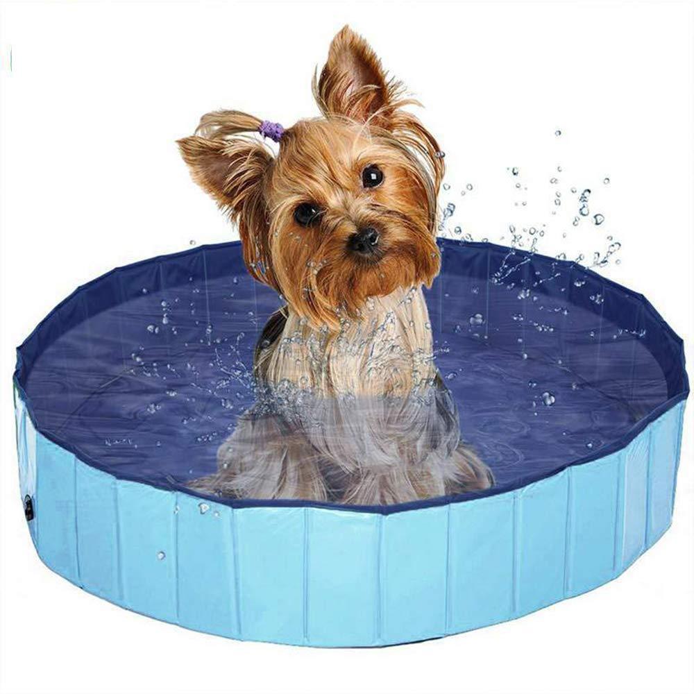 (訳ありセール 格安) プール犬水泳アクセサリープールペット大きなプラスチックシャワー用品用ネコ犬子供用小さな池モルモットコーナー取得ゴールデンハード折り畳み式プードル水グルーミング動物浴槽   B07QLCDZV1, ニシカワ質店 5ca8a872