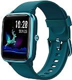 Reloj Inteligente Mujer,Smartwatch Hombre Impermeable IP68 Pulsera Actividad 1.3 Pulgada con Monitor de Ritmo cardíaco…