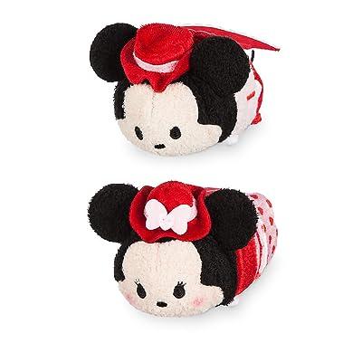 Disney Mickey and Minnie Mouse ''Tsum Tsum'' Plush Valentine's Day 2020 Set - Mini 3 1/2 Inch: Toys & Games