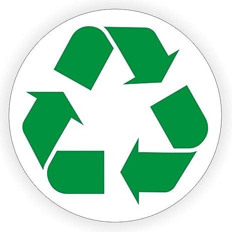 1 pcs amazing unique recycle logo window sticker sign mac apple macbook laptop luggage wall graphics