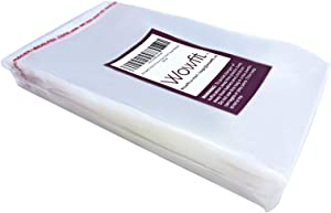 Wowfit 1000 CT 4x6 inches Clear Cello Cellophane Plastic Bags, Re-Sealable Self-Sealing Cello Bags Great for Cookies, Decorative Wrappers, Party Favors, Candy and More (4 x 6 inches)