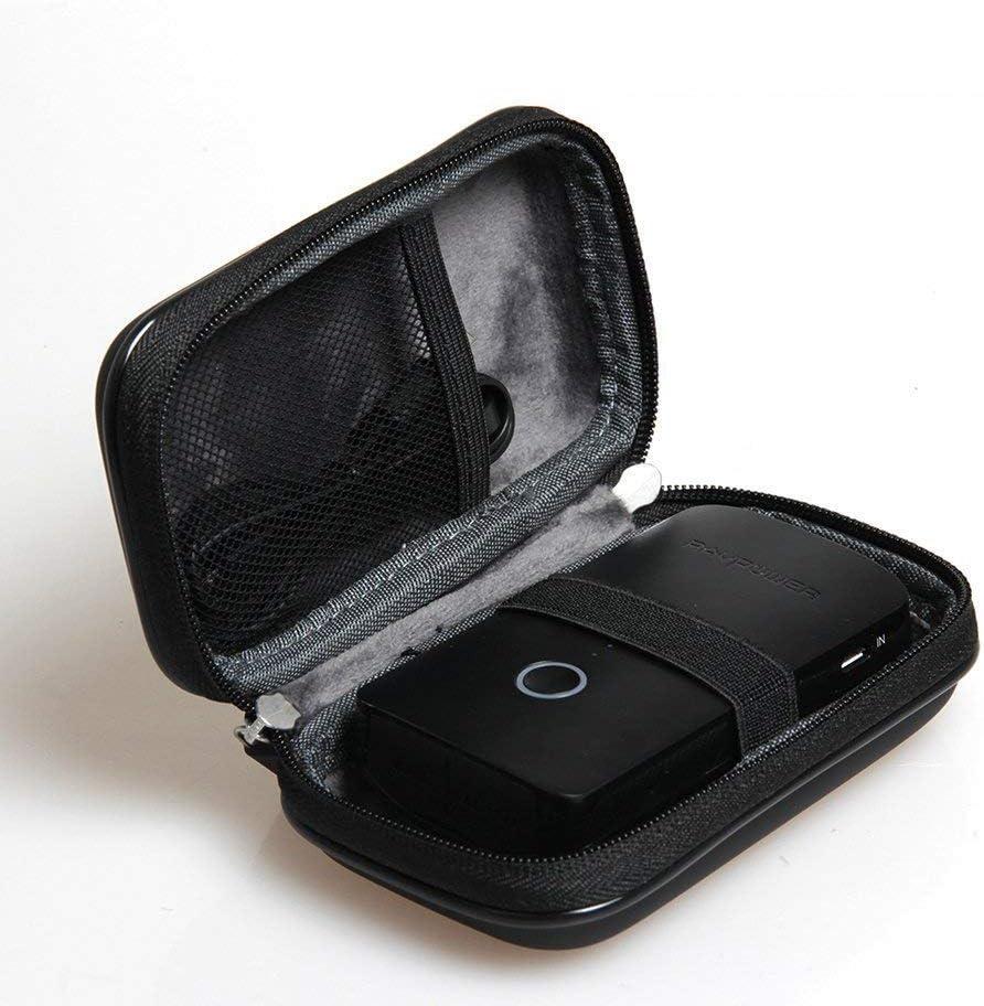 Duro EVA estuche de viaje para RAVPower rp-wd03 FileHub Plus versátil compañero de router inalámbrico lector de tarjeta USB SD unidad portátil DLNA nas compartir media Streamer 6000 mAh batería externa por