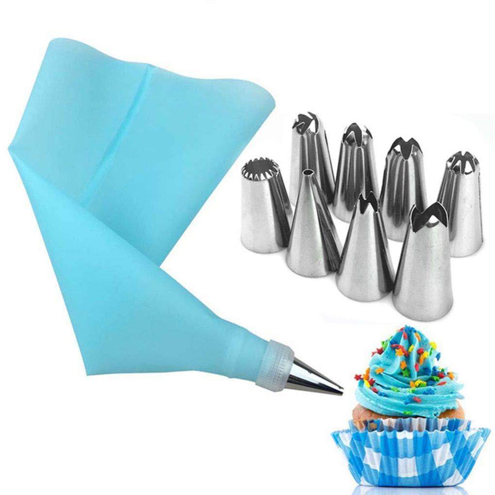 Level Icing Piping Crema pasticcera Bag in Acciaio INOX ugelli punte Della pasticceria Converter FAI da te Torta che Decora gli attrezzi