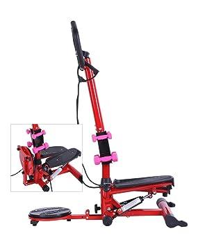 tenive multifuncional Aerobic Cintura – Twist Stepper Paso Stepping 3 en 1 máquina de ejercicio con