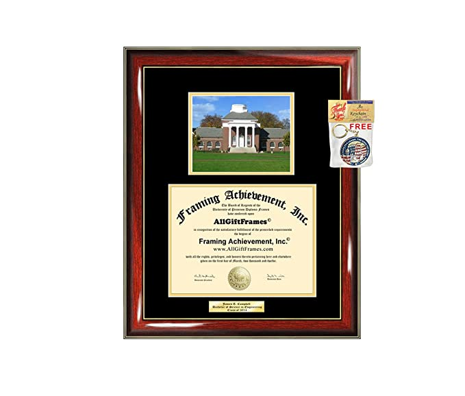 33f54403c11 Amazon.com - Diploma Frame University of Delaware Graduation Gift Idea  Engraved UD Picture Frames Engraving Degree Cheap Graduate Bachelor Masters  MBA PHD ...