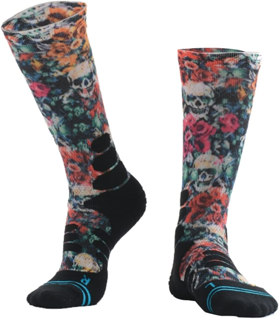 1 Paar MEIKAN Kompressionssocken,COOLMAXMEIKAN,Professioneller Sport Athletic Long Socken Fast Dry Feuchtigkeitstransport atmungsaktiv Anti-Blasen-Stoff.