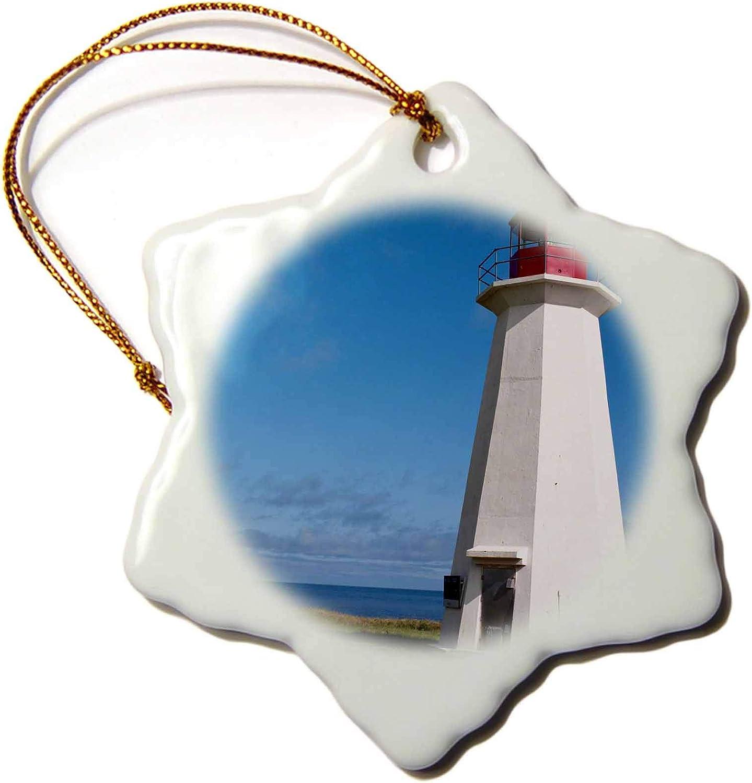 3dRose Prince Edward Island. Shipwreck Point Lighthouse.-CN09 MDE0009 -. - Ornaments (ORN_72988_1)