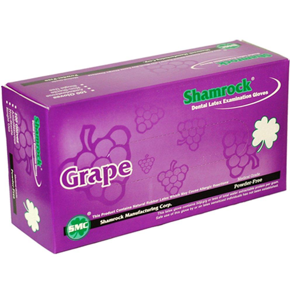 Shamrock 14112-M-bx Dentist Glove, Cheap, Cheap, No Powder, Thin, Latex, Medium, Natural