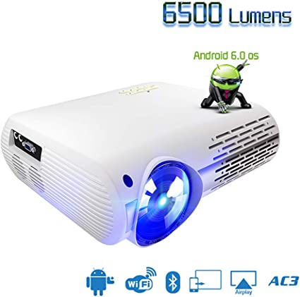 Amazon.com: Smile Video Projector, Portable Projector, Video ...