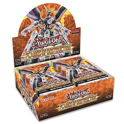 Yu-Gi-Oh! TCG: Flames of Destruction Booster Display by Konami