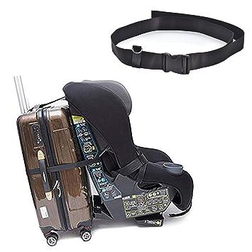 Amazon Com Car Seat Travel Belt To Suitcase Car Seat Luggage