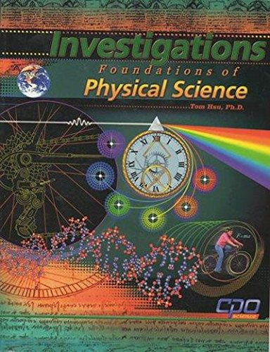 Investigations Foundations of Physical Science PDF