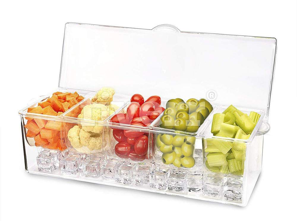 Tristar Chilled Condiment Server by Tristar Products-us