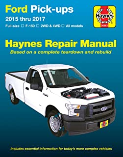 ford full size pick ups f150 04 09 haynes repair manual haynes rh amazon com Haynes Repair Manuals Mazda Haynes Repair Manuals PDF