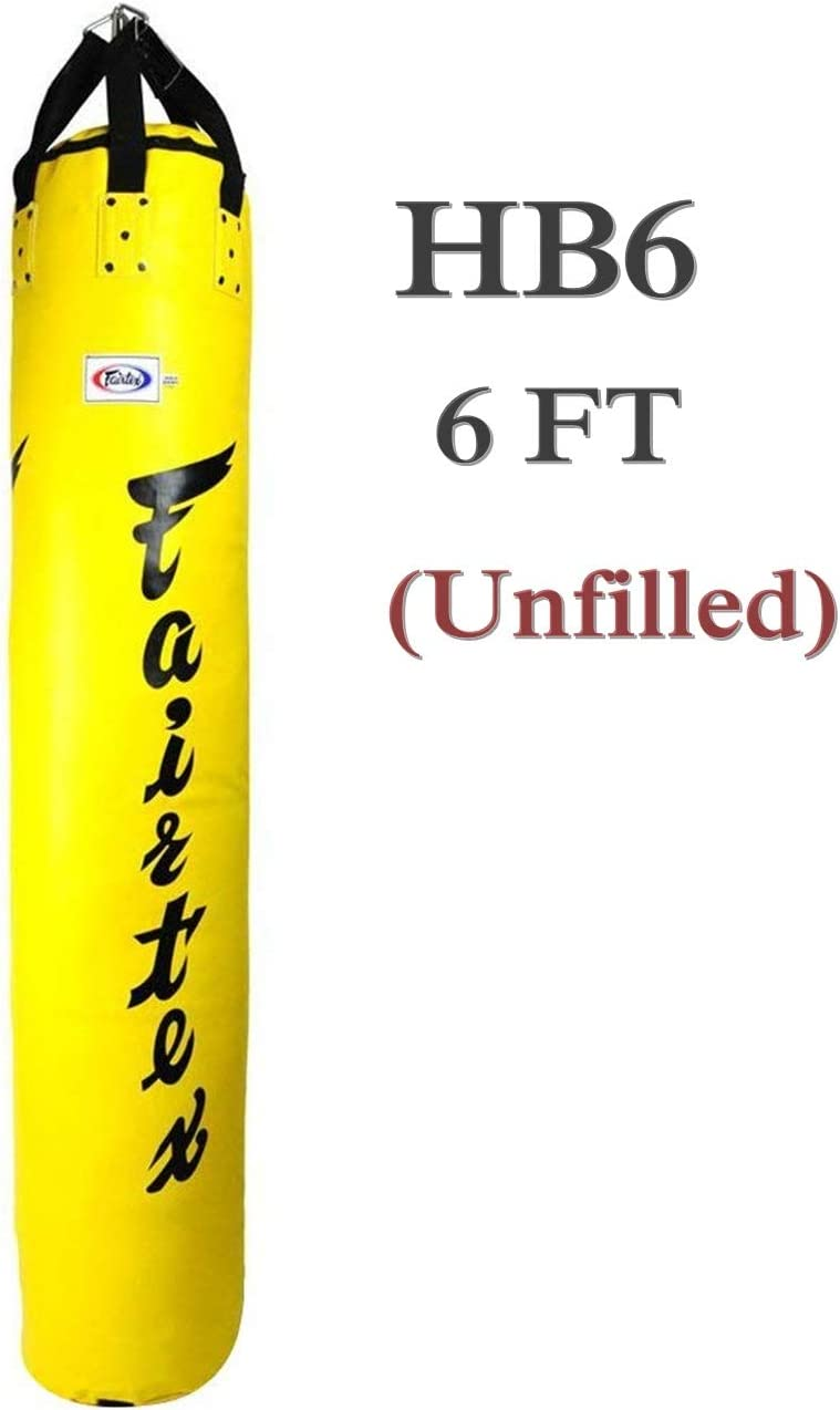MMA Muay Thai Banana Punching KICKING Heavy Kicking Bag 6ft 150lbs UNFILLED