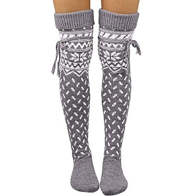 White Stockings  Hold-Ups Stocking Ladies Adult Girls over knee Socks