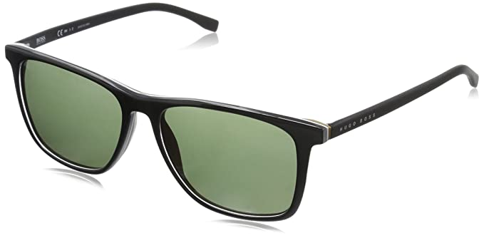 8620aa4253 Amazon.com  BOSS by Hugo Boss Men s B0760s Rectangular Sunglasses ...