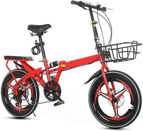 YUMEIGE Bicicletas infantiles Bicicletas para niños Bicicletas para niños 16/20 pulgadas Niños y niñas Ciclismo, Adecuado para niños de 6 a 6 años Bicicleta plegable, amarillo, rojo, negro, blanco Dis: Amazon.es: Deportes