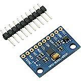 HiLetgo MPU9250/6500 9-Axis 9 DOF 16 Bit Gyroscope Acceleration Magnetic Sensor 9-Axis Attitude +Gyro+Accelerator+Magnetometer Sensor Module IIC/SPI for Arduino GY-9250