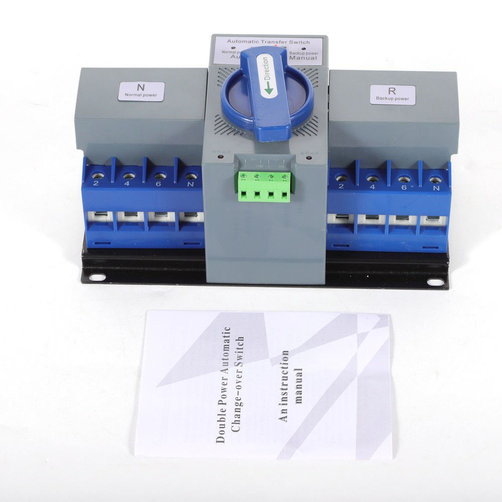 TFCFL Professional Automatic Transfer Switch Dual Power 4P 63A 400V Changeover Switch by TFCFL (Image #5)