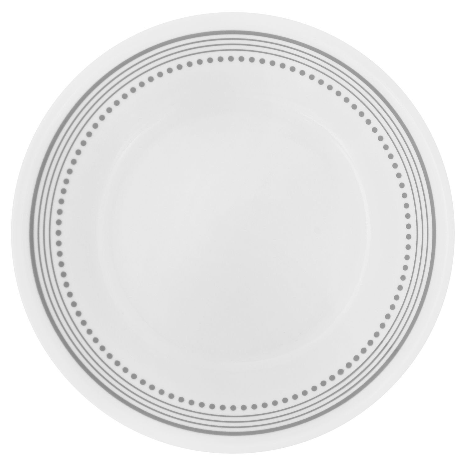 Corelle Livingware Mystic Gray 6.75'' Bread & Butter Plate (Set of 4)