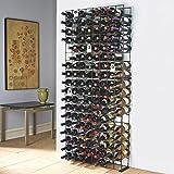 Wine Enthusiast 144 Bottle black Tie Grid - Best Reviews Guide