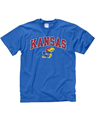 1720e0f28ae2 Campus Colors Kansas Jayhawks Adult Arch   Logo Gameday T-Shirt - Royal