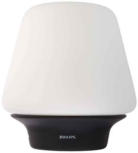 Philips Hue 4100730U7 Hue White Ambiance Wellness Dimmable LED Smart Table  Lamp Compatible with Amazon Alexa