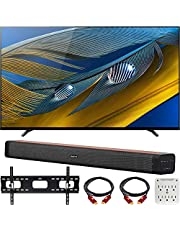 "$2318 » Sony XR65A80J 65"" A80J 4K OLED Smart TV (2021) Bundle with Deco Home 60W 2.0 Channel Soundbar, 37""-100"" TV Wall Mount Bracket Bundle and 6-Outlet Surge Adapter"