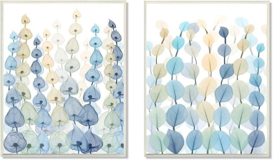 Stupell Industries Seaweeds and Ocean Plants Blue Green Pattern, Design by Albert Koetsier Art, 2pc, Each 10 x 15, Wall Plaque