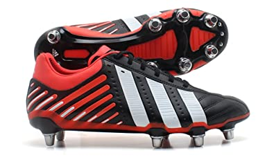 c343cead1cc3 adidas Adipower Kakari SG Mens Black White Red Rugby Boots Size UK 15  G60180 Wide Fit