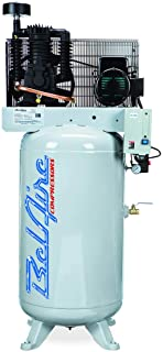 product image for BelAire 318VL 7.5 HP 80 Gallon 1-Phase Vertical 2 Stage Air Compressor with Starter