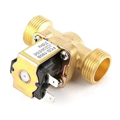 Industrial Equipment Solenoid valve AC 220//240V FCD-180B G3//4 2 Way Electric Solenoid Valve Normal Closed Magnetic Valve Work under Water Pressure for Household Appliances