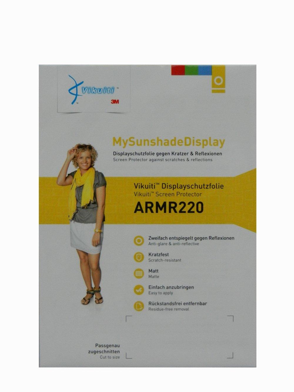 Vikuiti armr220スクリーンプロテクターfor Beckerアクティブ45、100正確に継手 – 簡単マウント可能 – Matt and反射防止 – 傷付き   B00IRJ0I08