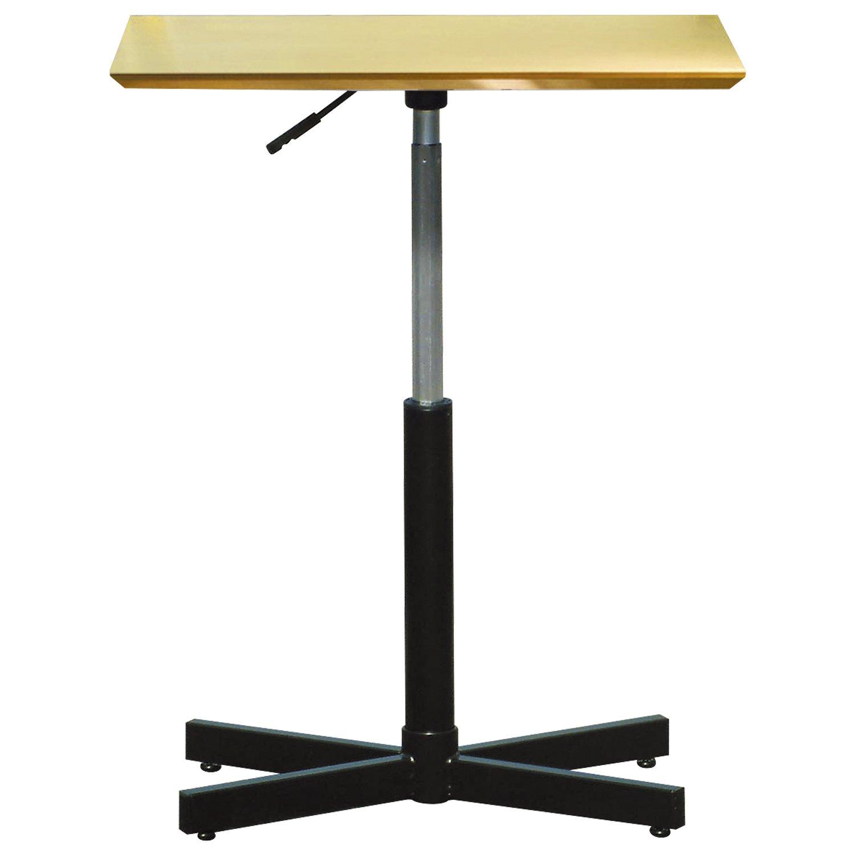 ルネセイコウ テーブル ブランチヘキサテーブル 昇降機能付 ナチュラル/ブラック BRX-645T B017SKK342 Parent ナチュラル/ブラック