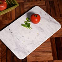 Hashcart Beautiful Marble Chopping, Chopper, Cutting Board | for Bread, Fruits,Vegetables Meat and Cheese Serving Tray
