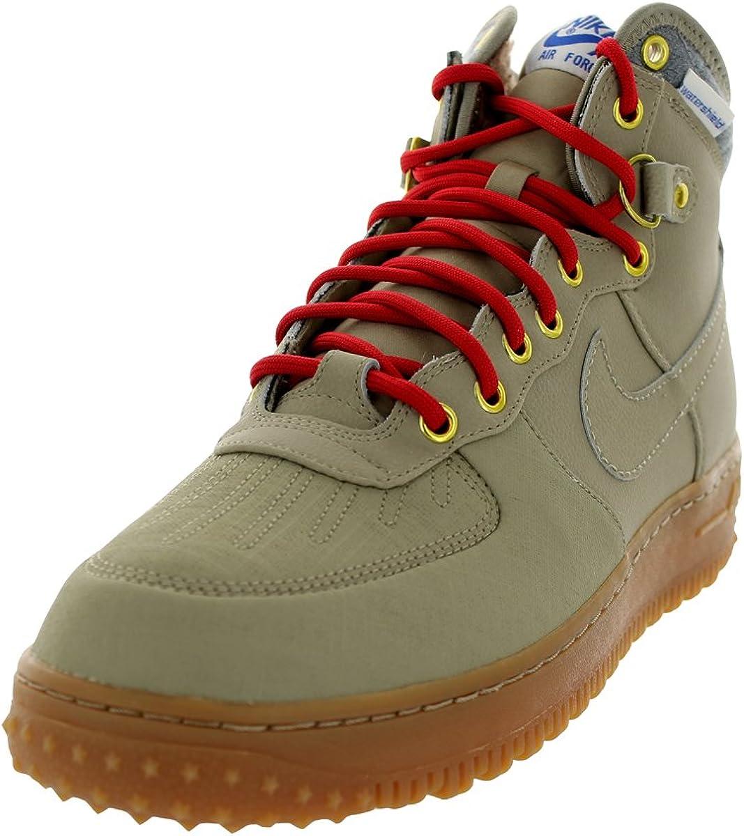 Nike Air Force 1 Duckboot Leder Wasserdicht Beige 444745 203