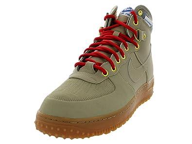 nouveau produit e7869 ba21e Nike air Force 1 Duckboot Cuir étanche Beige 444745 203 ...