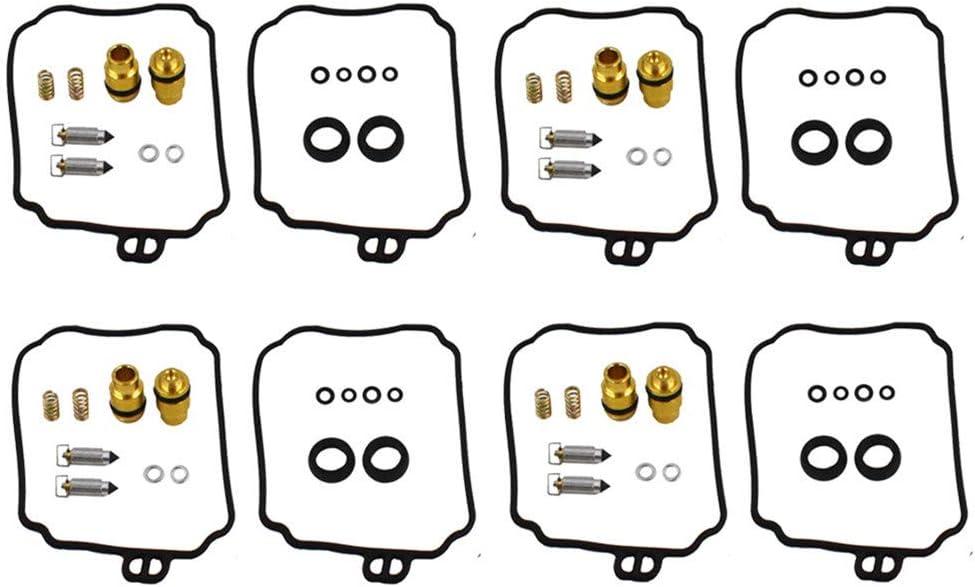 4 x Carburetor Carb Repair Float Bowl Gaskets Kits Fit for Yamaha K/&L18-8996 XJ600S Seca II XVZ1300