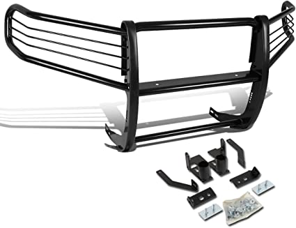 DNA MOTORING Black GRILL-G-040-BK Front Bumper Brush Grille Guard