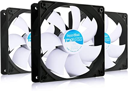 AAB Cooling Super Silent Fan 12 PWM: Amazon.es: Electrónica