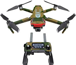 product image for War Tiger Decal Kit for DJI Mavic 2/Zoom Drone - Includes 1 x Drone/Battery Skin + Controller Skin