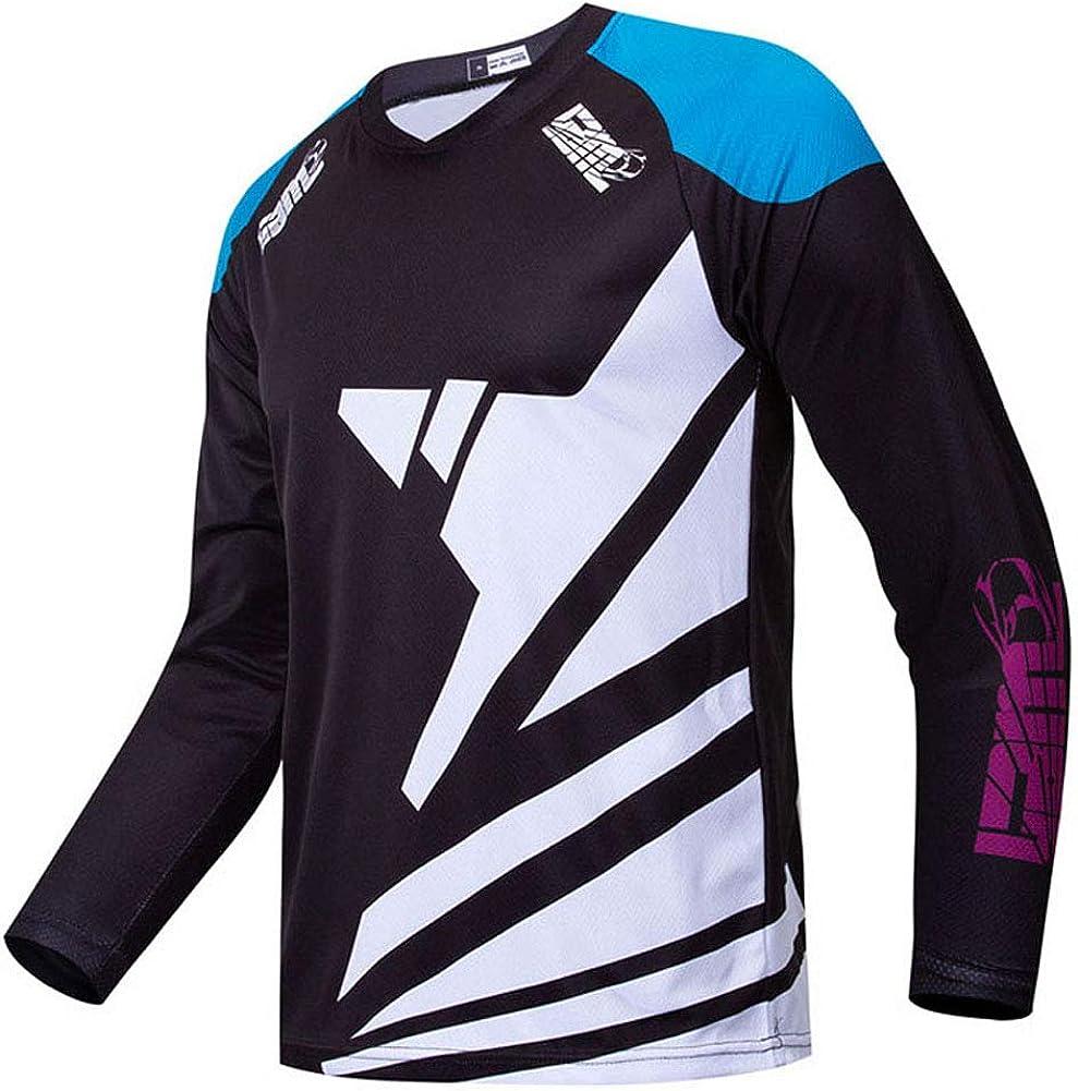 Motorcycle Jersey Shirt Racewear Bicycle Racing Shirt Quick Dry Motocross Riding Apparel Bike Jersey Long Sleeve