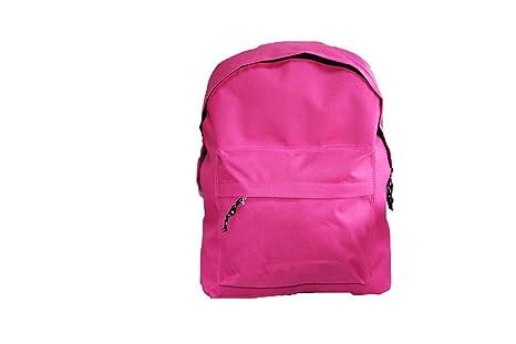 Factorycr Mochila Pink Omega 32x42x16 cms Escolar Juvenil Rosa, Color, 32 X 42 X