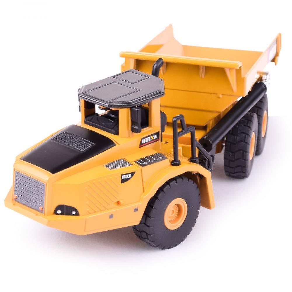 QAQW Camión Volquete De Aleación De Simulación, Modelo De Automóvil De Juguete De Vehículo De Ingeniería para Niños